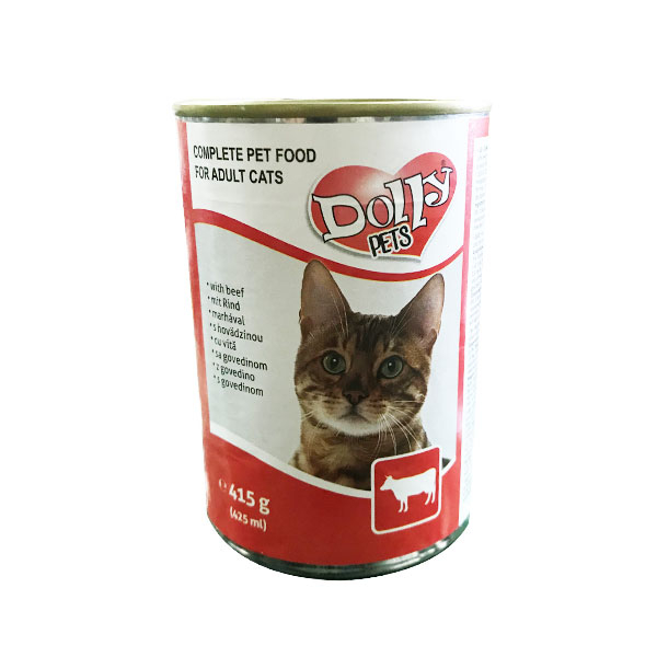 Dolly Cat Conserva cu Vita 415g [0]