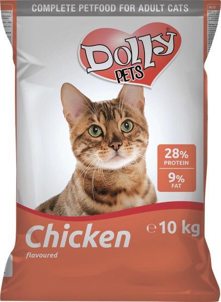 Hrana Uscata Dolly Cat Pasare 10kg [0]