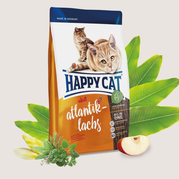Happy Cat Supreme Adult, Somon de Atlantic, 10 kg [0]