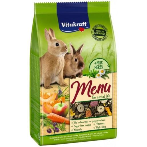 Hrana pentru Iepuri, Vitakraft Premium Menu 1 kg [0]