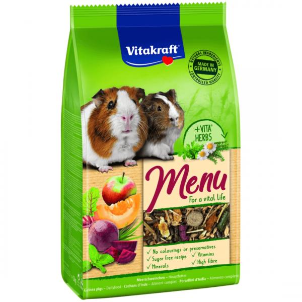 Hrana pentru Porcusori de Guineea Vitakraft Premium Menu 400G [0]