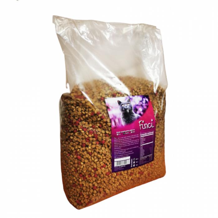 Hrana Uscata Pentru Pisica Finci Cu Aroma De Peste 10 Kg [0]