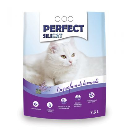 Nisip Perfect SiliCat Gel Lavanda 7.6 L [0]