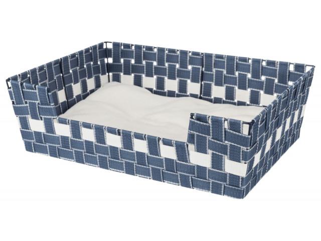 Trixie Cos Elvar Din Chinga 50 X 35 Cm Albastru / Alb 38407 [2]