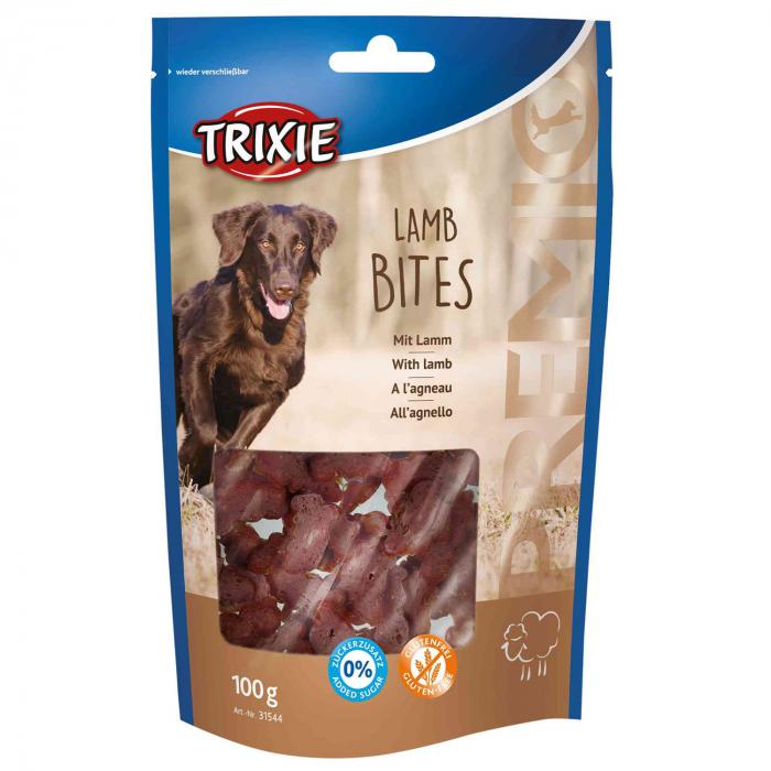 Recompense Trixie Premio Bucati cu Carne de Miel 100 g 31544 [0]