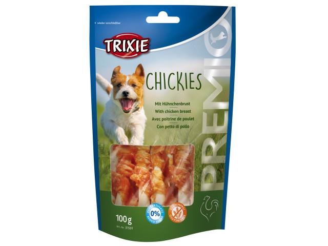 Recompensa Trixie Premio Chickies oase cu pui pentru caini 100 g [0]