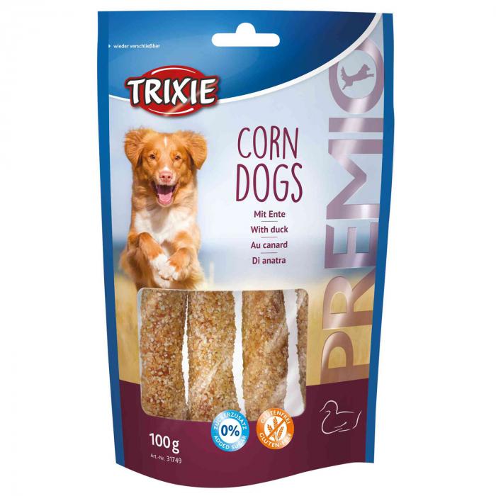 Recompensa Trixie PREMIO Corn Dogs 100g [0]