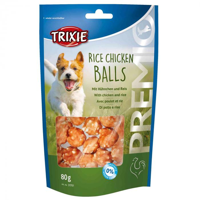Recompensa Trixie Premio Orez Pui Balls 80 g [0]