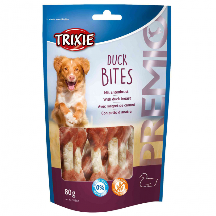 Recompensa Trixie Premio Os cu Piept de Rata 80 g 31592 [0]