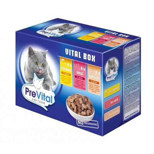 Hrana Umeda Pentru Pisici PreVital in Sos 100g [0]