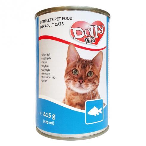 Dolly Cat Conserva cu Peste 415g [0]