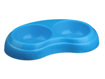Trixie Castron Plastic Dublu 2x0.2 l/10 cm 24967 [1]