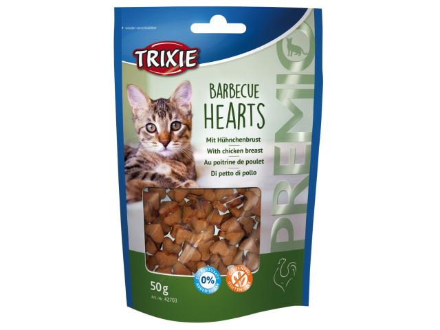 Trixie Drops Pisica Barbecue Inimoare 50 g [0]