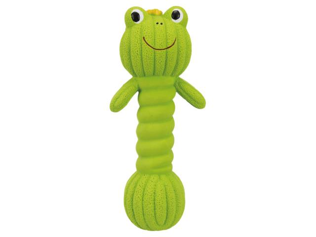 Trixie Jucarie Dumpbell Broasca 18 cm Verde [0]