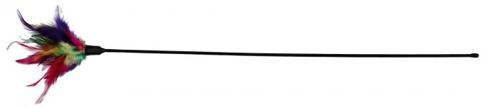 Trixie Jucarie Pisici Undita cu Pana 50 cm [0]