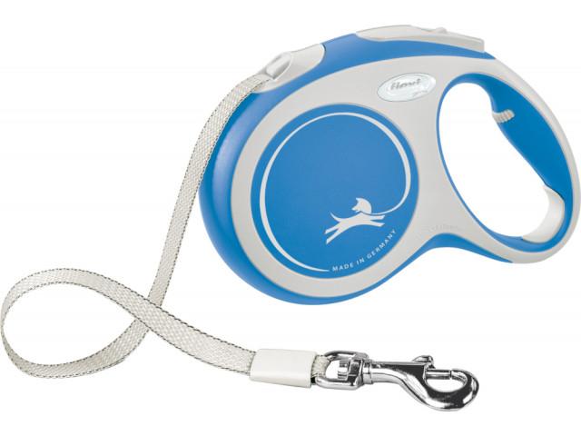Trixie Lesa Flexi Comfort Banda L: 5m/60kg, Albastru 213602 [0]