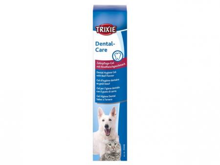 Trixie Gel de ingrijire dentara Trixie cu aroma de vita 100 g 25446 [0]