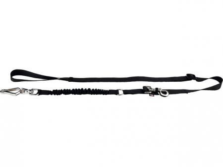 Trixie Lesa pentru Bicicleta si Jogging 1-2 m/25 mm Negru 1282 [0]