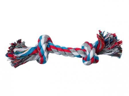 Trixie Jucarie Sfoara cu 2 Nod Mic 15 cm/25 g 3270 [2]