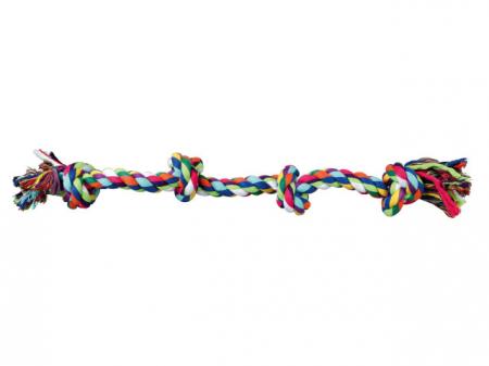 Trixie Jucarie Sfoara cu 2 Noduri 360 g/54 cm 3274 [0]