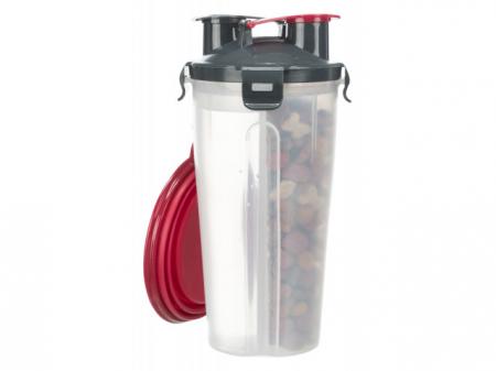 Trixie Recipient hrana si lichid, plastic, 2 x 350 ml/ø 11 x 23 cm 25019 [2]