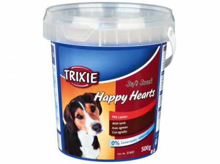 Trixie Drops Inimioare Miel Orez 500 g Galeata 31497 [0]