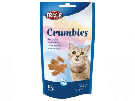 Trixie Drops Pisica Crumbies cu Somon si Taurina 60g 42671 [0]