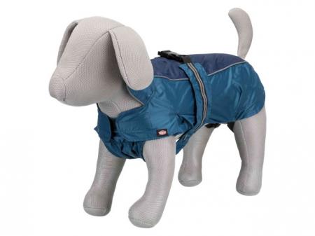 Trixie Pelerina de ploaie pentru caini S: 47-62 / 34 cm albastru 67933 [0]