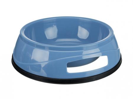 Trixie Castron Plastic cu Greutate Antiderapant 0.5 l/14 cm 24951 [0]