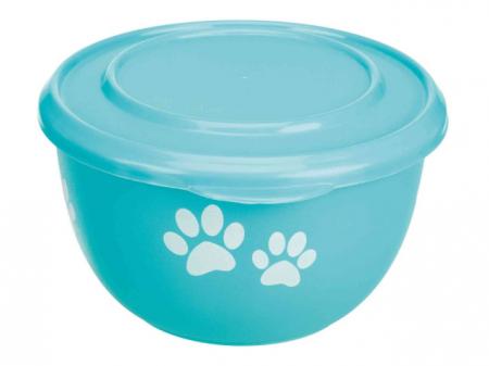 Trixie Bol Inox Cu Capac Plastic 0.35l/11cm 99787 [2]