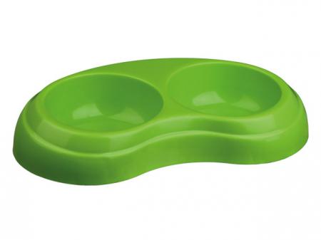 Castron Plastic Dublu 2x0.2 l/10 cm [0]