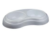 Castron Plastic Dublu 2x0.2 l/10 cm [2]