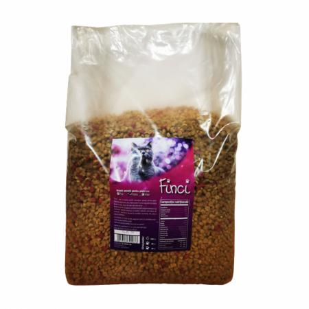 Hrana Uscata Pentru Pisica Finci Cu Aroma De Peste 10 Kg [2]