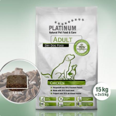 PLATINUM Adult Chicken 15kg [0]