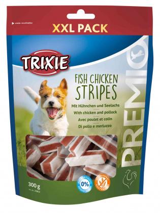 Recompensa Trixie Premio Fish Chicken Stripes XXL 300g [0]