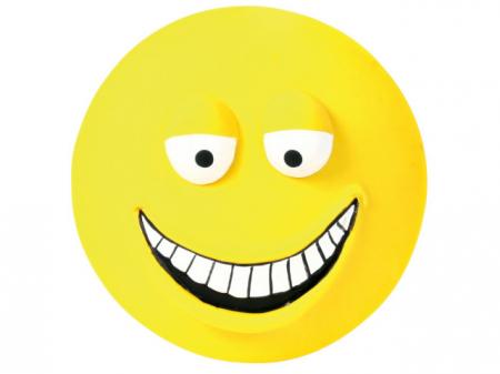 Trixie Jucarie Smiley Latex 10 cm cu Sunet [0]