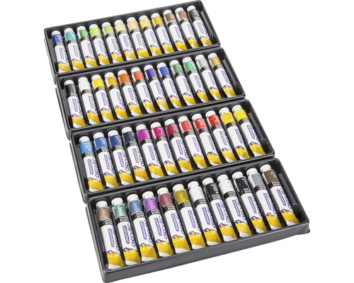 Set 48 culori acrilice Graduate 48x22 ml [0]