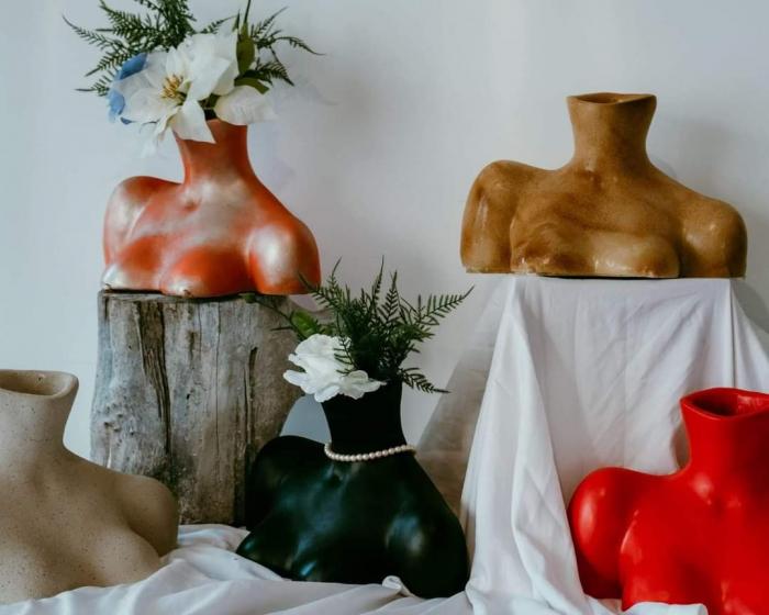 VAZA CHLOE, artă cu rol de vază și decorațiune interioară [1]