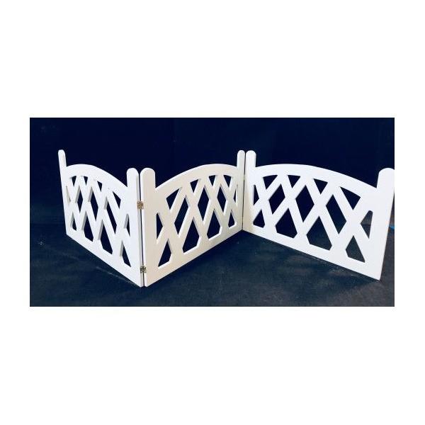 Gardulet din PVC forma romb - nuanta Alb [0]