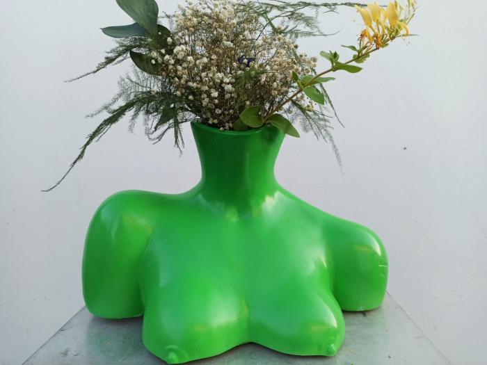 VAZA CHLOE, artă cu rol de vază și decorațiune interioară [3]
