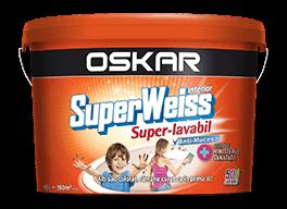 Vopsea superlavabila interior, Oskar Superweiss, alba [0]