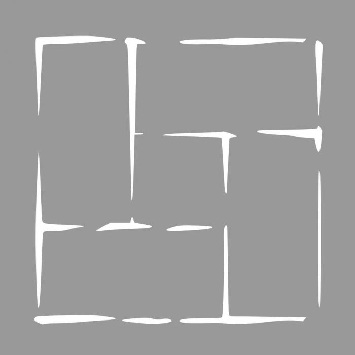 Sablon Refolosibil Repetitiv 30x30cm - Pavele [2]