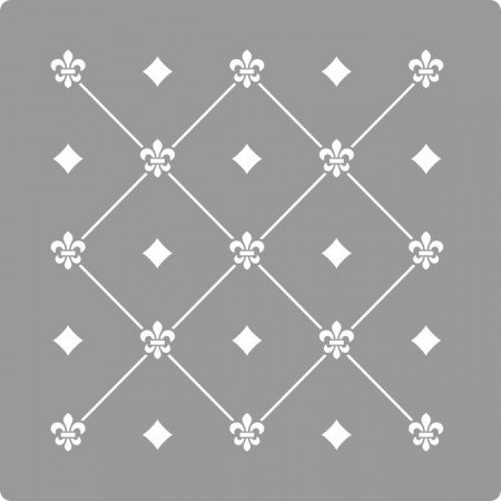 Sablon Refolosibil Repetitiv Puncte Damask 590*590mm - SP82-3 [1]