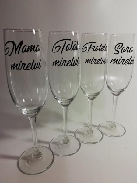 Set 4 stickere Mama Mirelui, Tatal Mirelui, Sora Mirelui, Fratele Mirelui [0]