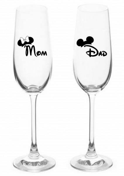 Set 2 stickere Mom, Dad [0]