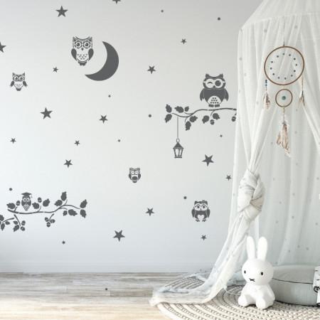 Set 14 Șabloane decorative pentru pictat pereți [1]