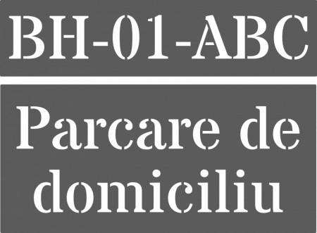Set 2 Sabloane Refolosibile Parcare Domiciliu [0]