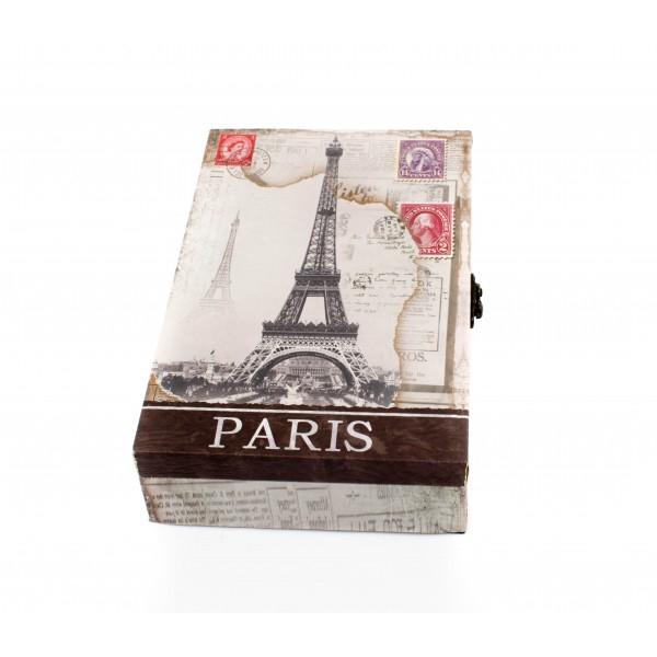 Suport pentru  chei din lemn cu PVC - model Turnu Eiffel [2]