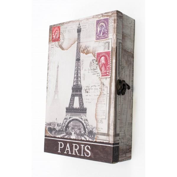 Suport pentru  chei din lemn cu PVC - model Turnu Eiffel [0]