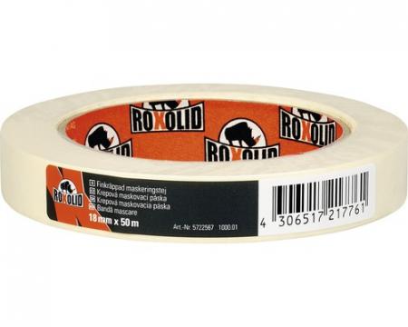 Banda de mascare fin creponata ROXOLID bej [0]